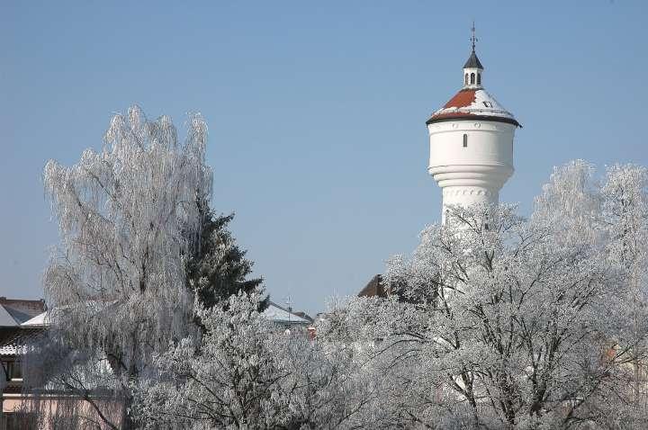 Alter Wasserturm - Weit sichtbares Wahrzeichen Mühldorfs