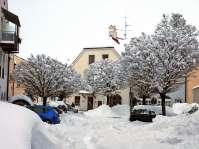 Auf der Wies - wohin mit dem Schnee