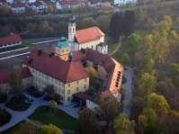 Ecksberg Stiftung und Sankt Salvator - Luftaufnahme