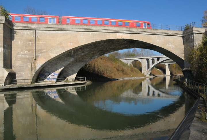 Brücken über den Innkanal