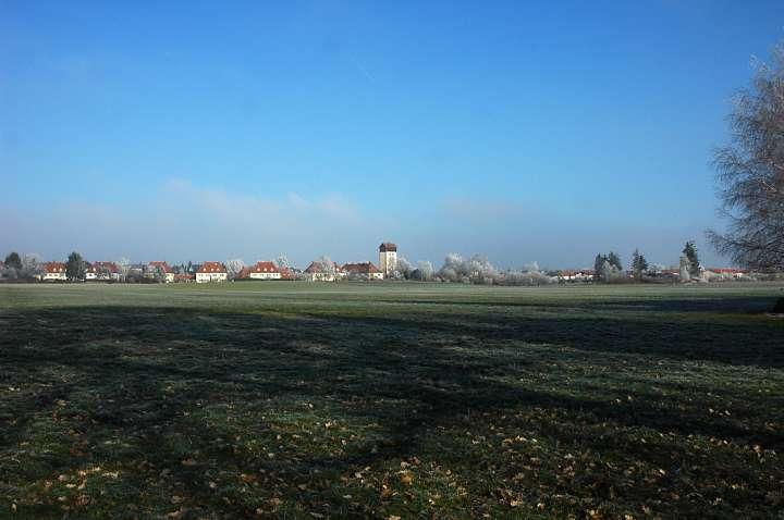 Eichfeld - Die unter Ensembleschutz stehende Werkssiedlung Eichfeld in der ehemaligen Gemeinde Hart