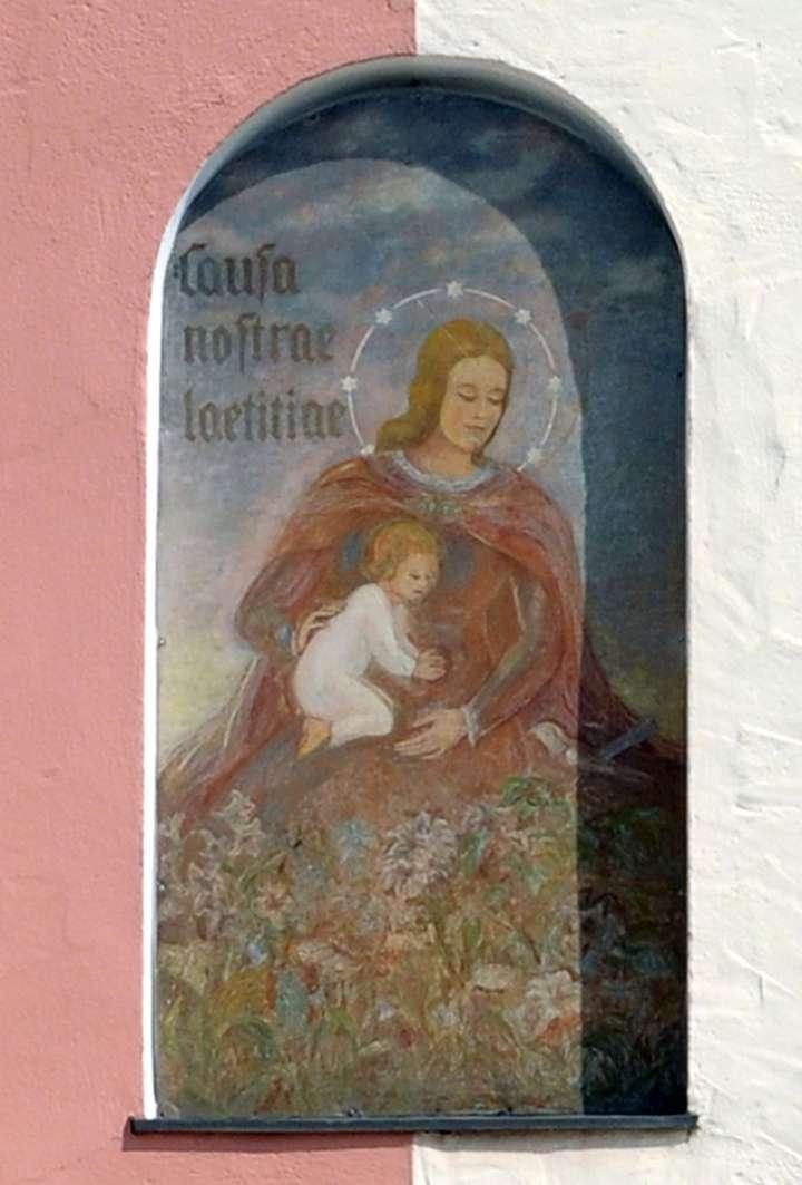 Die Gottesmutter Maria mit dem Jesuskind