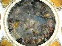 Nikolauskirche - Großartiges Deckengemälde