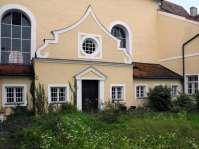 Eingang zur Sakristei der Frauenkirche über den Klostergarten