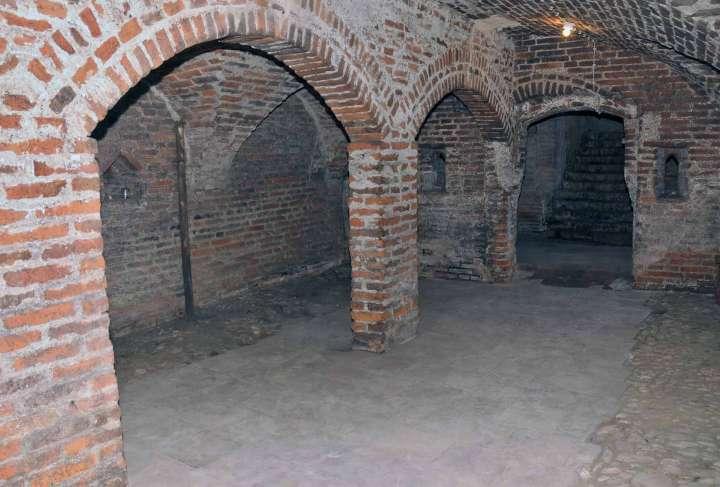 Stadtplatz 48 - Jetzt Vermessungsamt - Kellergewölbe
